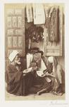 Photograph: Three Seated in Discussion, Cairo
