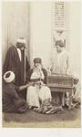 Photograph: Four Men in Discussion, Cairo