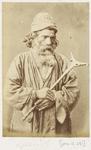 Photograph: Bearded Man with Sceptre, Cairo