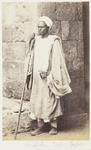 Photograph: Arab Man from Upper Egypt, Cairo