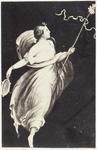Photograph: Girl with Ribbons on Stick Illustration, Pompeii Frieze