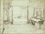 Sketch: Interior of Bedroom
