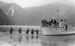 Negative: Landing South Fiord...