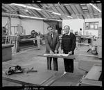 Negative: Two Men In Workshop