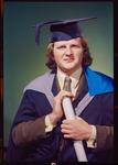 Negative: Mr Hueston graduation