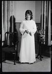 Negative: Miss B. Allfrey debutante portrait