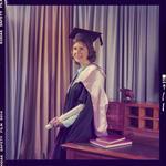 Negative: Ms P. Bain graduation