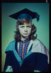 Negative: Mrs Clarke graduation