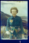 Negative: Collage of lady in hills
