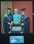 Negative: Messrs Monk and woman graduation