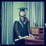 Negative: Mr C. P. Stott graduation