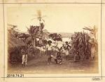 Photograph - In Native Village Near Suva - Fiji