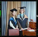Negative: Mr R. Neal and Sister Graduates