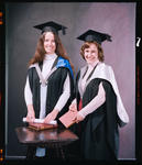 Negative: Miss or Mrs Donkin and Unnamed Woman Graduates