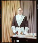 Negative: Mr J. M. Verrall Freemason Portrait