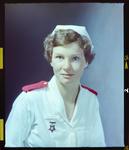 Negative: Miss Mercer Nurse Portrait
