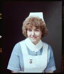 Negative: Miss Swap or Miss Wood Nurse Portrait