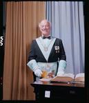 Negative: Worshipful Master A. C. Cattermole Freemason Portrait
