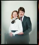 Negative: Mrs Sandy Seward and Unnamed Man