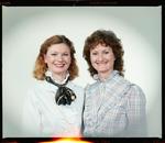 Negative: Mrs Sandy Seward and Unnamed Woman