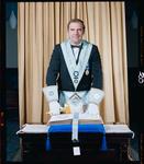 Negative: Mr A. H. Erdman Freemasons Portrait