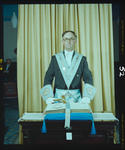 Negative: Mr Rogers Freemasons Portrait