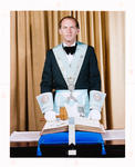 Negative: Mr N. H. Street Freemason Portrait