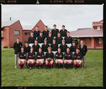 Negative: St Bede's Touring Rugby Team 1984