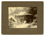 Photograph, Black and White: Smith family group on camping holiday at Port Levy, Christmas 1899