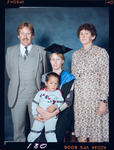 Negative: Unnamed Woman Graduate and Family
