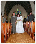 Negative: Lane-Greenfell Wedding