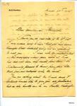 Letter: Roald Amundsen to Louis Bernacchi