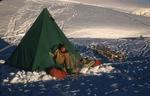 Slide: Man in Tent