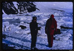 Slide: Two men near McMurdo Station