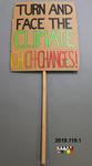 Protest Sign: Climate Changes