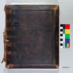 Photograph Album: Brown Leather