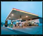 Negative: Shell Shirley Petrol Station