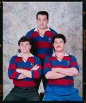 Negative: Three Men Sydenham Rugby Club Seniors 1991