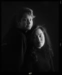 Negative: Jasmine And Delwyn Portrait