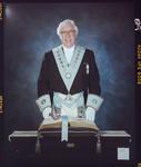 Negative: Maurice Smith Freemason Portrait