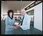Negative: Man And Woman Shell Ferry Road