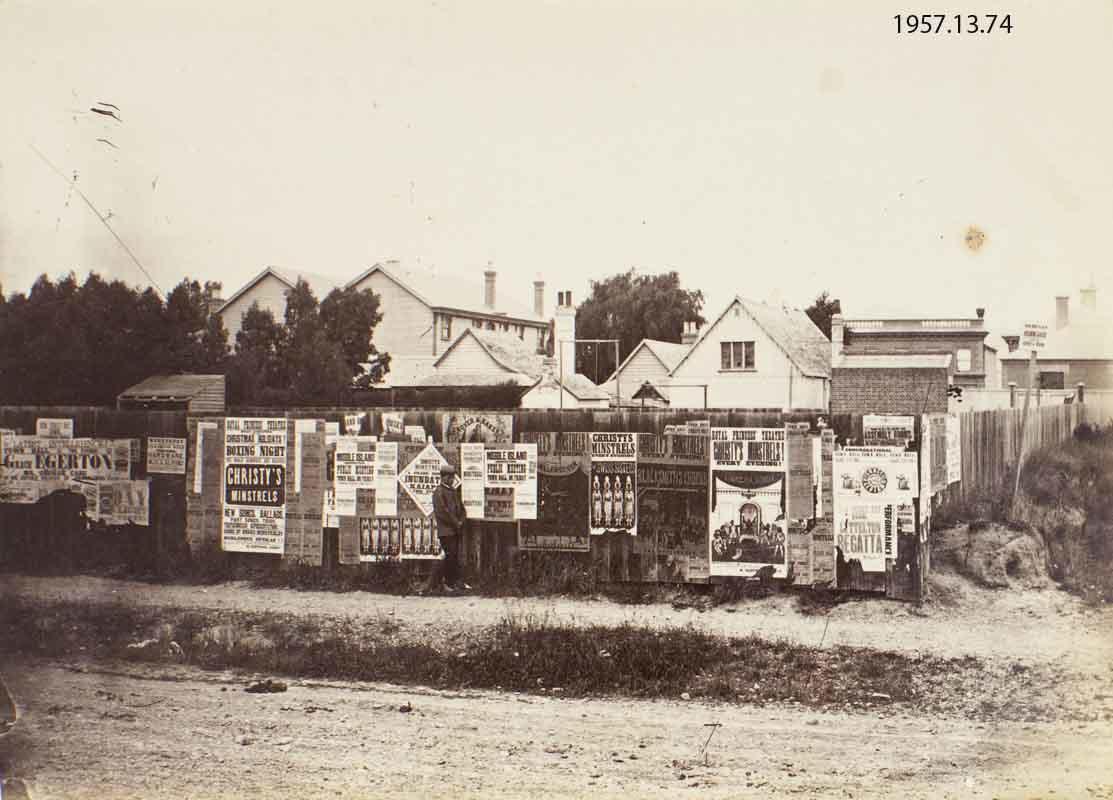 Photograph: Worcester Street, Christchurch - Canterbury Museum